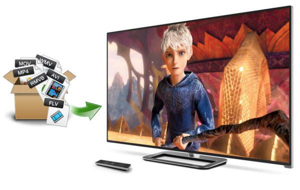 Play movies on Vizio HDTV
