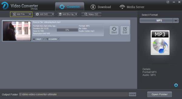 MP3 audio format