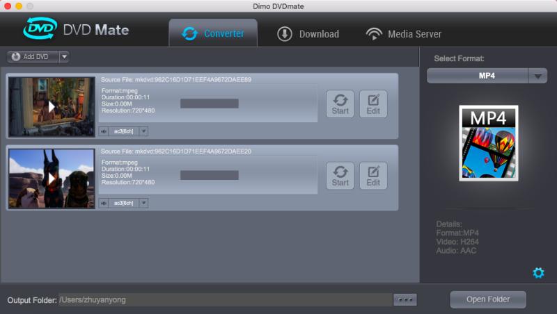 macos Sierra DVD (folder/disc/ISO) ripper, copier, player, editor & media se