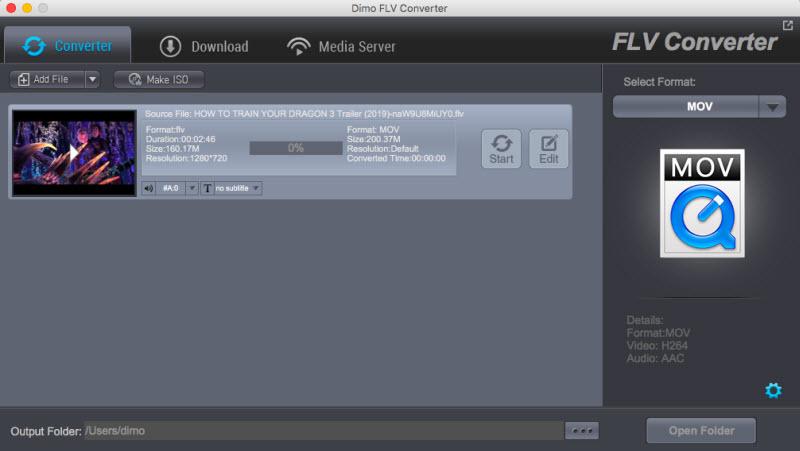 FLV Video Converter for Mac 4.3.0