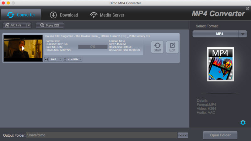 MP4 Video Converter for Mac 4.3.0