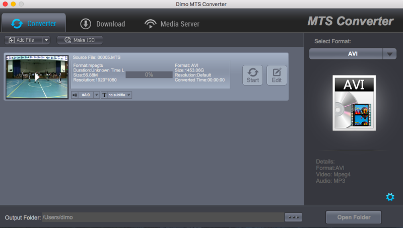 MTS Converter for Mac 4.4.0