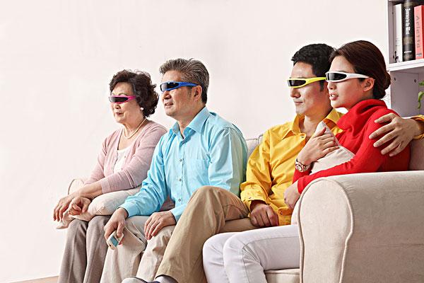 Watch 3D movies