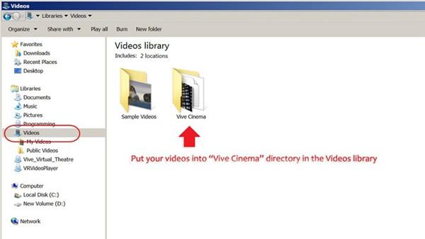 Find Vive Cinema