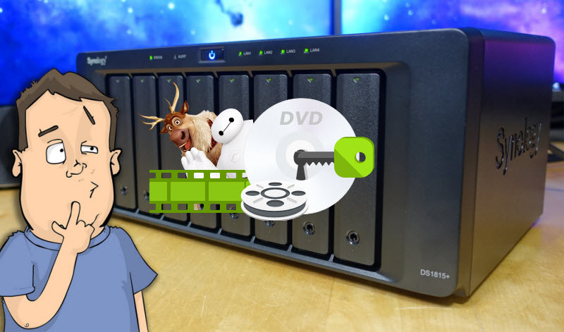 Get all DVDs into NAS for Safe-keeping or Convenient Playback