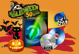 No Trick to Get 60% OFF Halloween Gift Pack from Dimo for DVD/Blu-ray/Movie/Music Enjoyment