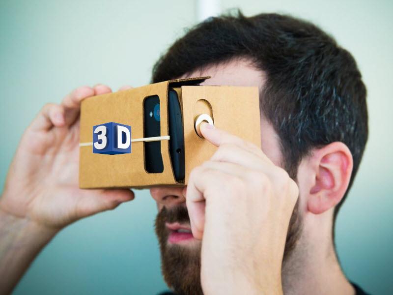 Watch 3D Movies on Google Cardboard via iOS/Android phone