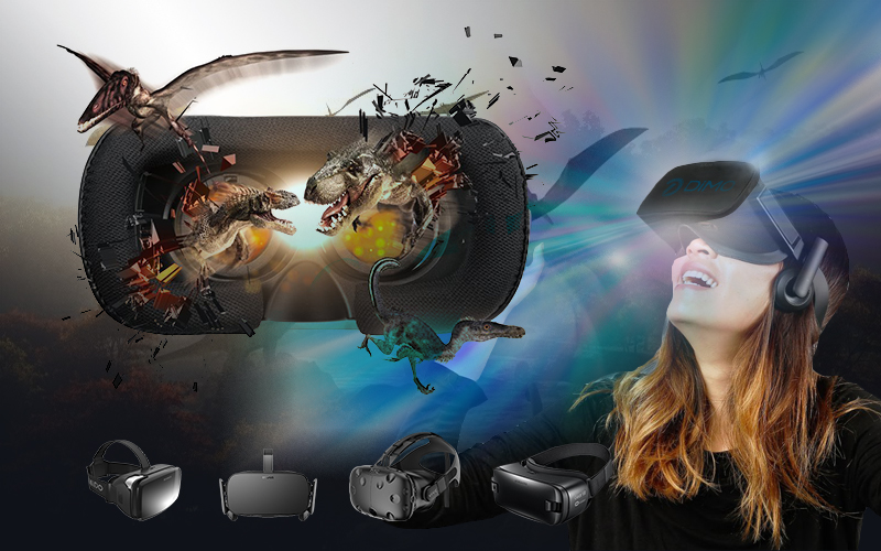Worry-free 3D/360 VR Movie Playback on DayDream, HTC Vive, PS VR, Homido VR, etc.