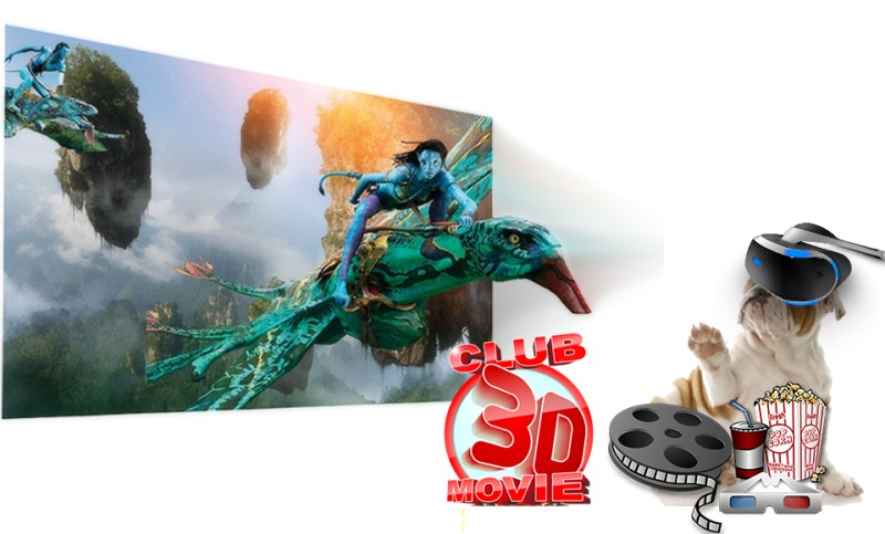 Top Must-see VR movies and 3D Blu-ray List for VR headsets
