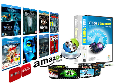 How to copy rented Blu-ray from RedBox, NetFlix, Amazon?
