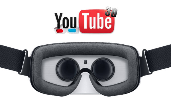 Play 3D videos from YouTube on Gear VR online or offline