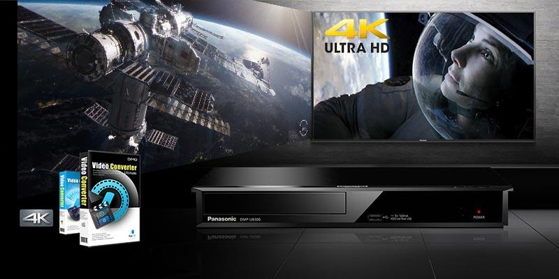 play 4k Blu-ray on UB400