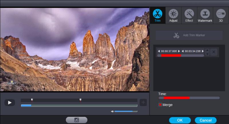 Trim 4K videos