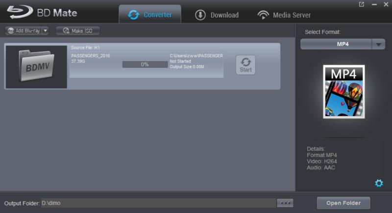 backup Blu-ray to BDMV folder
