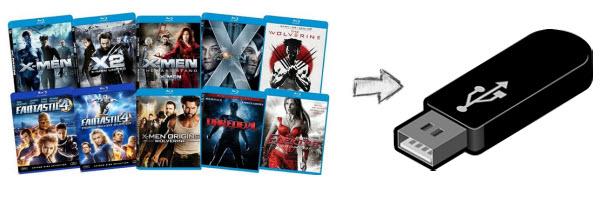 How to Rip Blu-ray to USB Flash Drive on Mac/PC-Media Hive