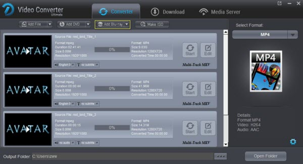 How to Rip Blu-ray to H 265 MP4 for 4K TV playback? - Blu