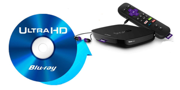 Switch Blu-ray to Roku 3/4 / Ultra for playback - Easy Blu-Ray