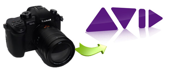Bring Panasonic GH5 4K Footage in AVID Media Composer