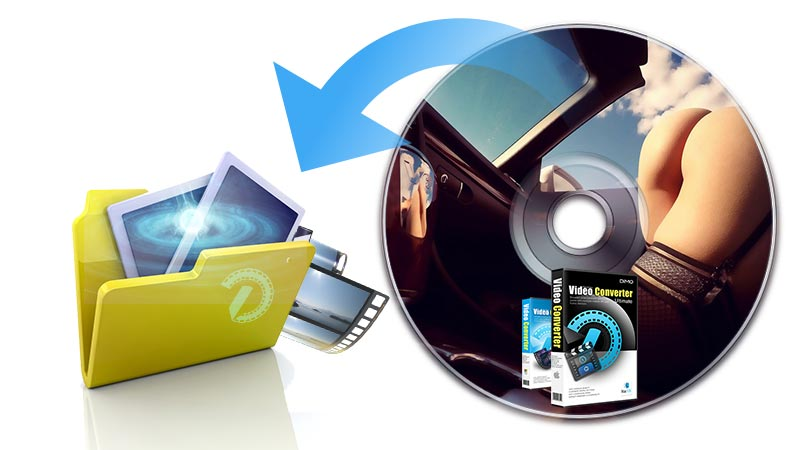 copy DVD to video_ts folder