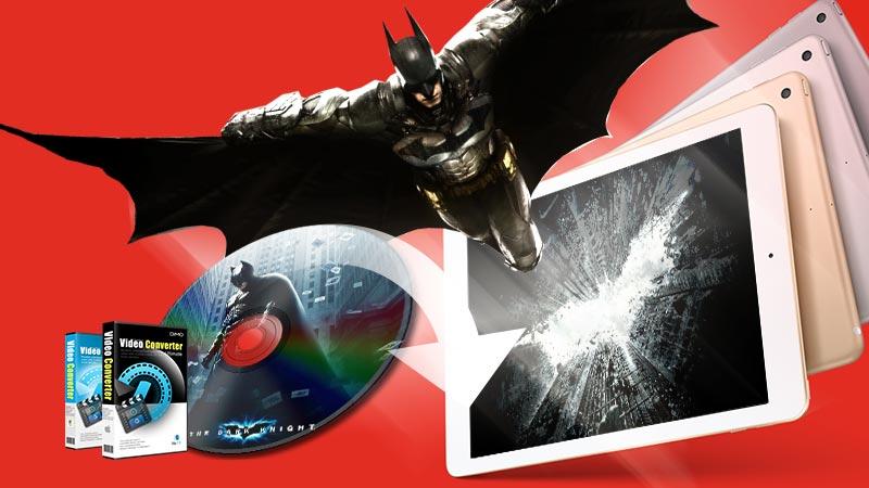 Play DVD on iPad (2017)