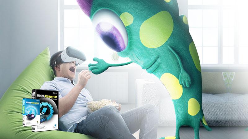 DVD to VR