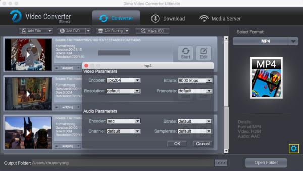 change setting to copy dvd to hard drive on mac