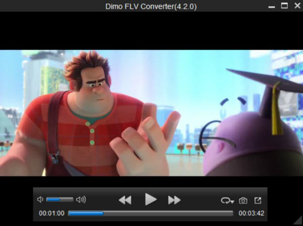 Play FLV video