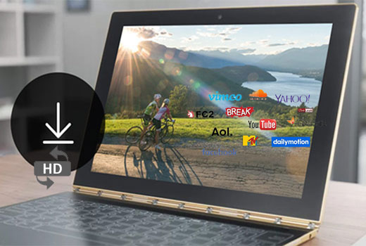 Download and Convert 4K & HD & SD Videos at One Go