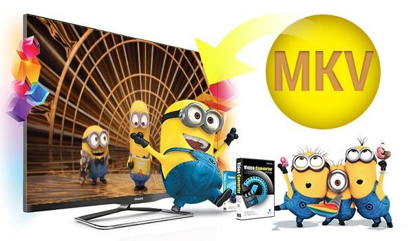 Philips TV Won't Play MKV Solution: Convert MKV to Philips