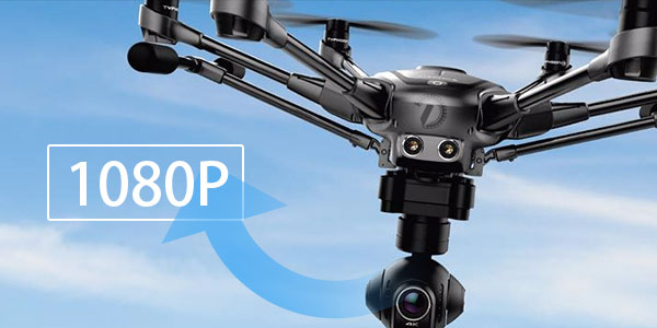 Tips Downsacle Yuneec Typhoon H 4K to 1080p on Mac/Windows - Guide