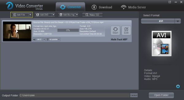 Pinnacle Studio video converter