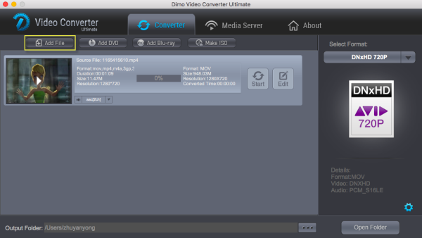 4K video converter for Avid MC