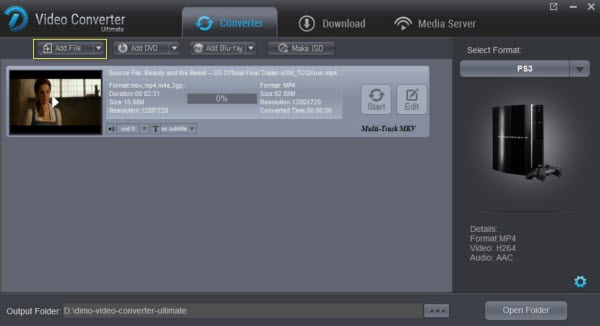 PS3 WMV Solution: Easily Convert WMV for Playback on PS3