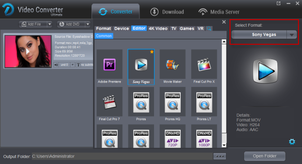 How to Convert and Import FLV to Sony Vegas Pro - Editor Advisor