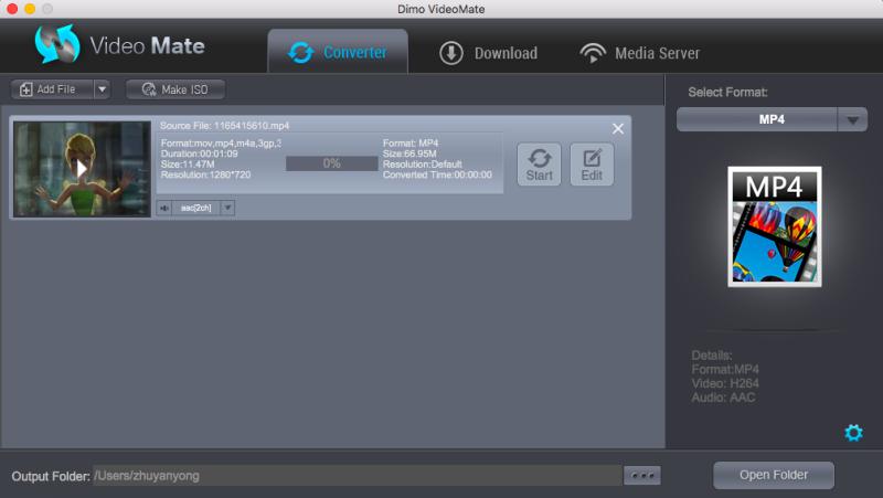 MacOS Sierra video converter/player/downloader/editor/server ISO/3D/Gif maker affordable Screen Shot