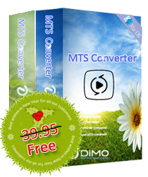 Dimo MTS Converter Free Christmas Giveaway