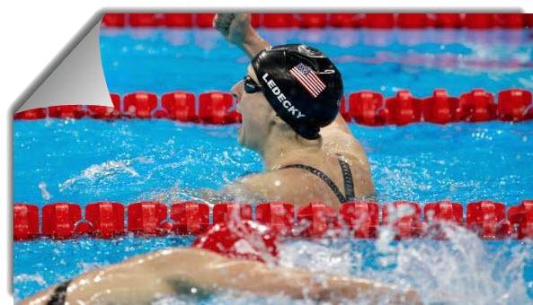 Swimmer ledecky