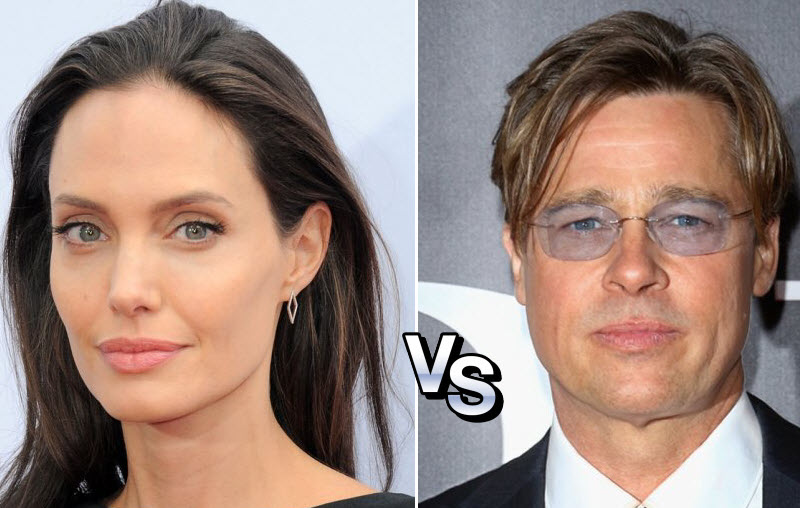 Angelina Jolie vs. Brad Pitt