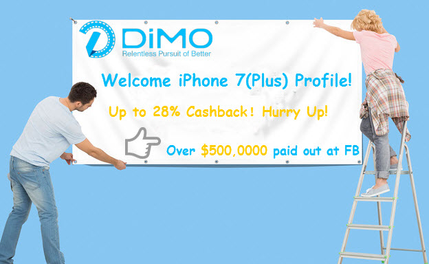 Dimo Biggest Cashback Sale