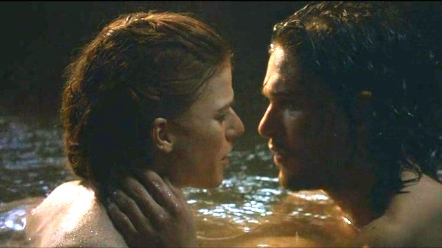 gamesofthrones jon and ygritte