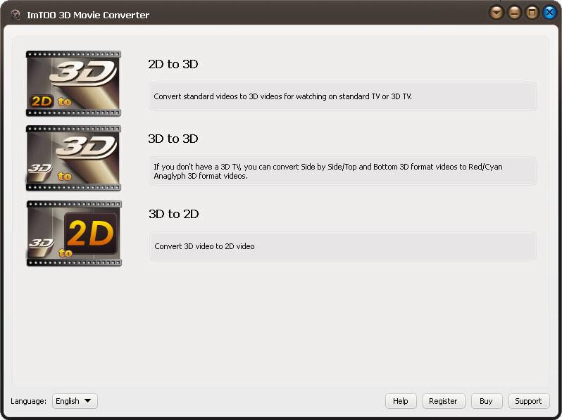 ImTOO 3D Movie Converter