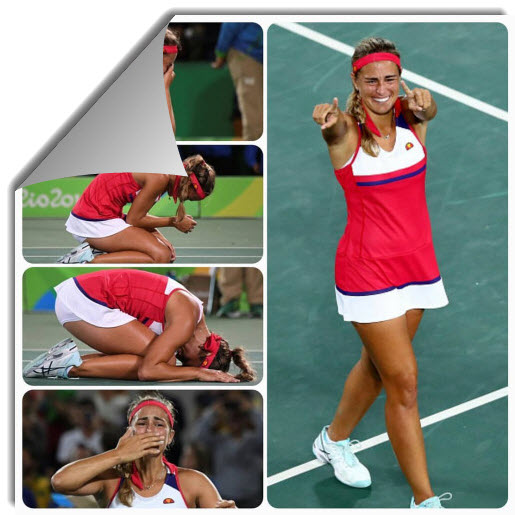 Monica Puig gold medal