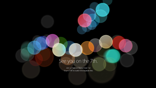 iPhone 7 Special Event