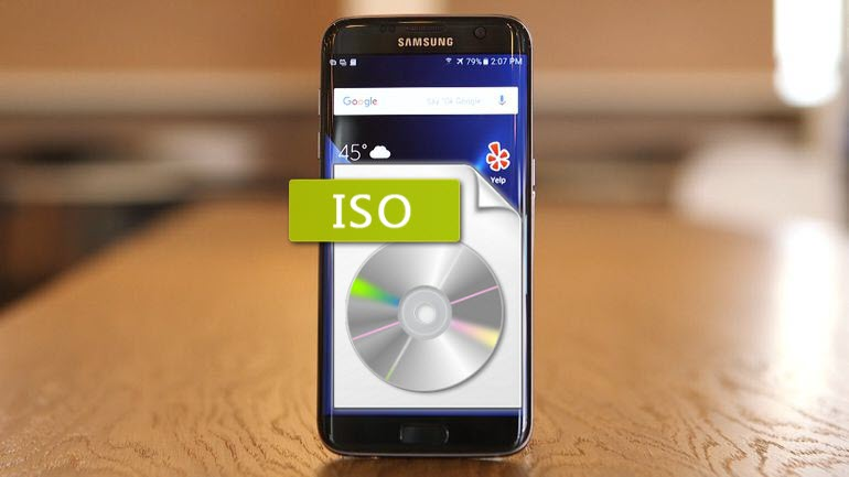 Put ISO to Galaxy S7 (Edge)