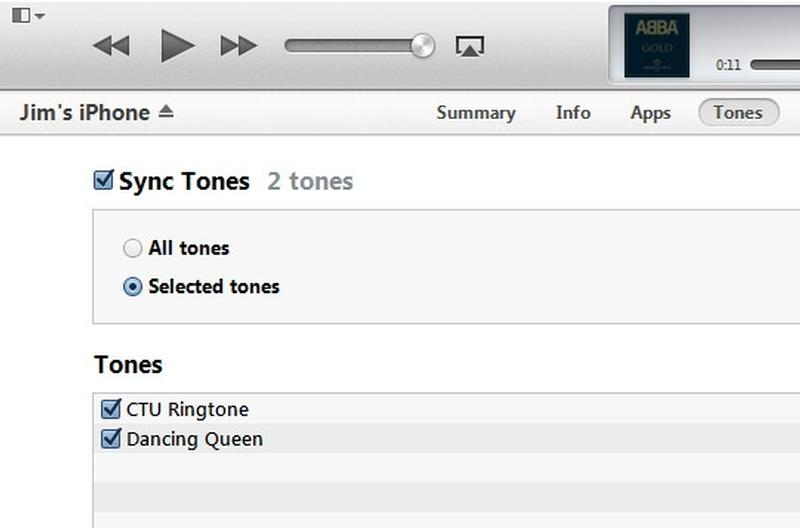 sync halloween ringtones to iphone