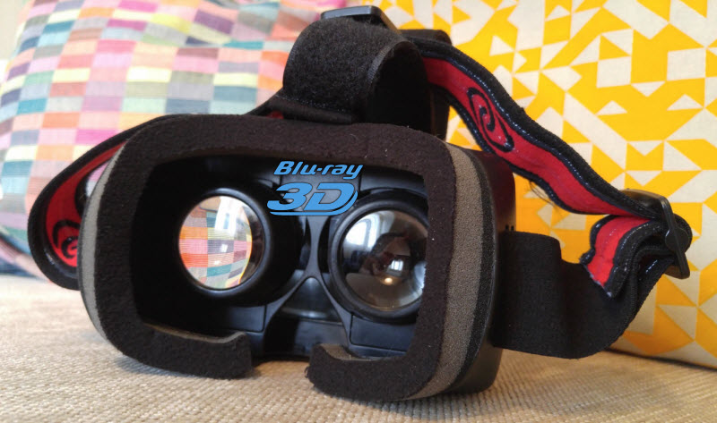 watch 3D Blu-ray on Homido VR headset