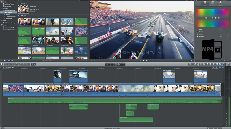 Edit MP4 in FCP
