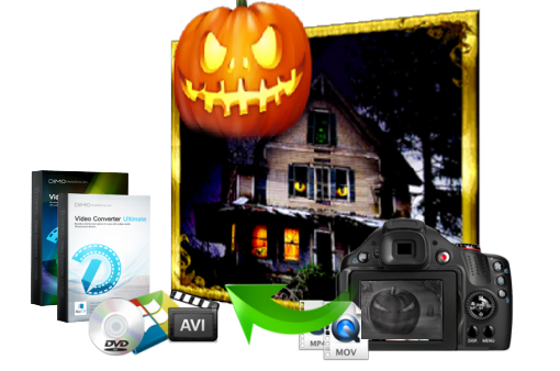 video halloween maker