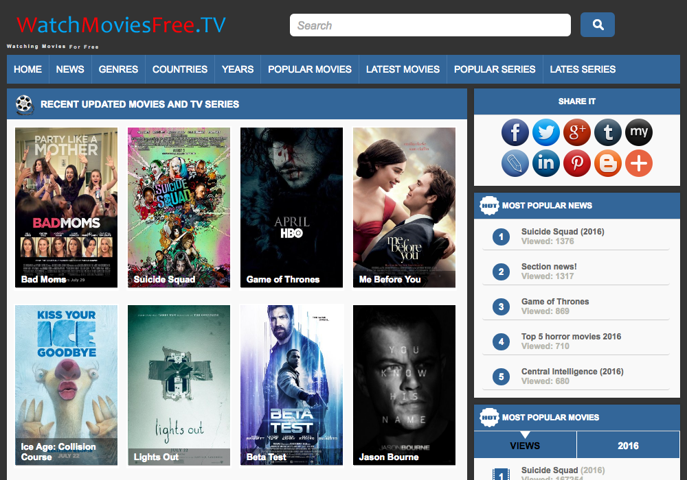 watch movies free tv