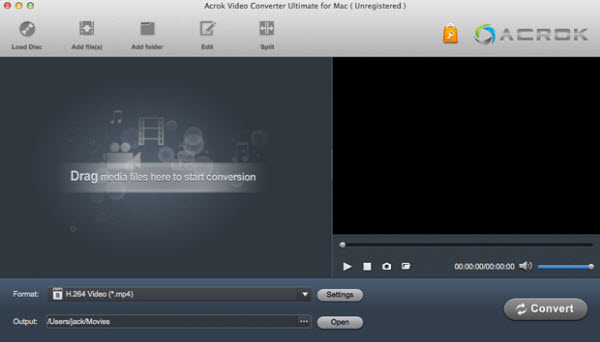 Acrok Video Converter Ultimate for Mac